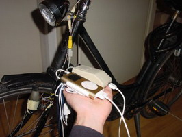 iPOD bicycle charger