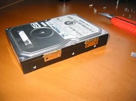 Hinges on hard drive