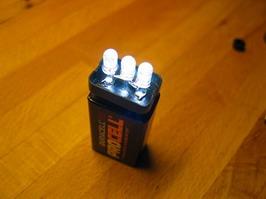 9v LED lamp