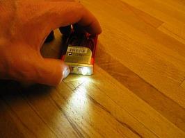 TicTac flashlight