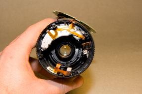 Canon EFS 18-55 Inside