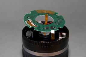 Canon EFS 18-55 circuit board