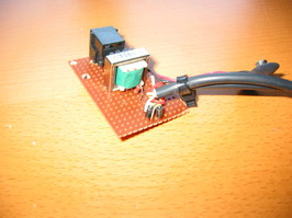 Diodes soldered